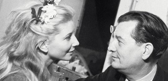 Jacqueline Pagnol (Manon) et Marcel Pagnol