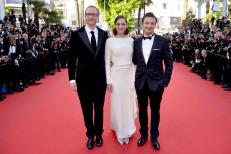 James Gray, Marion Cotillard et Jeremy Renner - Festival de Cannes 2013
