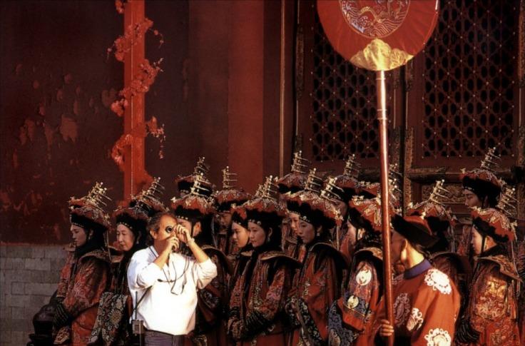 Le dernier empereur - Tournage