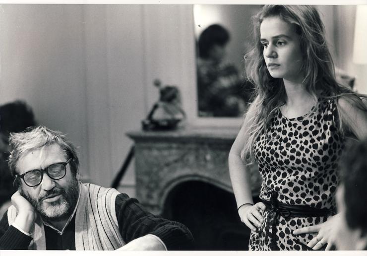 Maurice Pialat et Sandrine Bonnaire