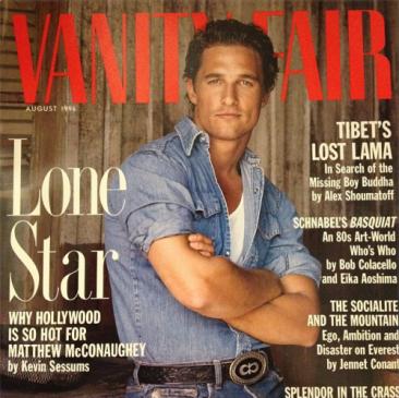 Matthew McConaughey, l'enfant chéri des studios