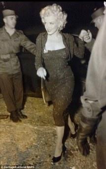 Févirer 1954 - Marilyn Monroe