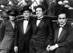 Al Pacino, Marlon Brando, James Caan et John Cazale.