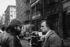Francis Ford Coppola et Marlon Brando